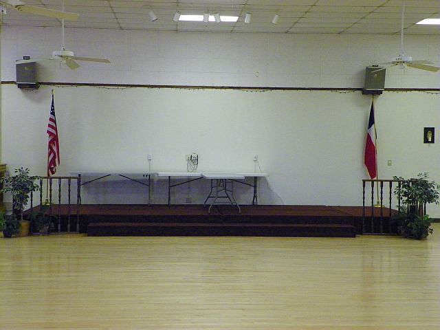 Stage at Swingtime Center